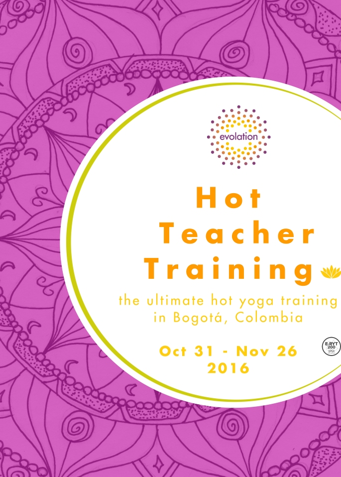 hot yoga teacher training bogota, entrenamiento de profesores hot yoga bogota,