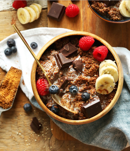http://greatist.com/health/healthy-fast-breakfast-recipes